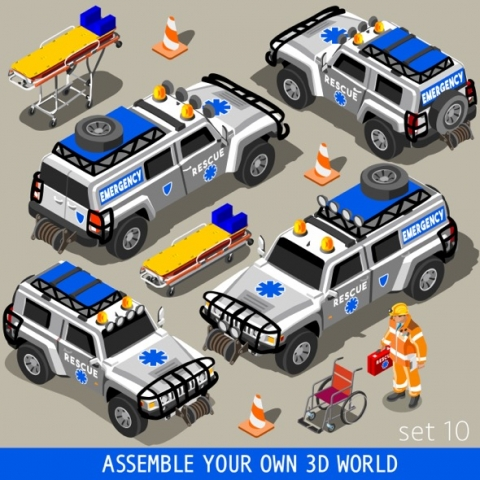 First Aid Rescue Vehicles