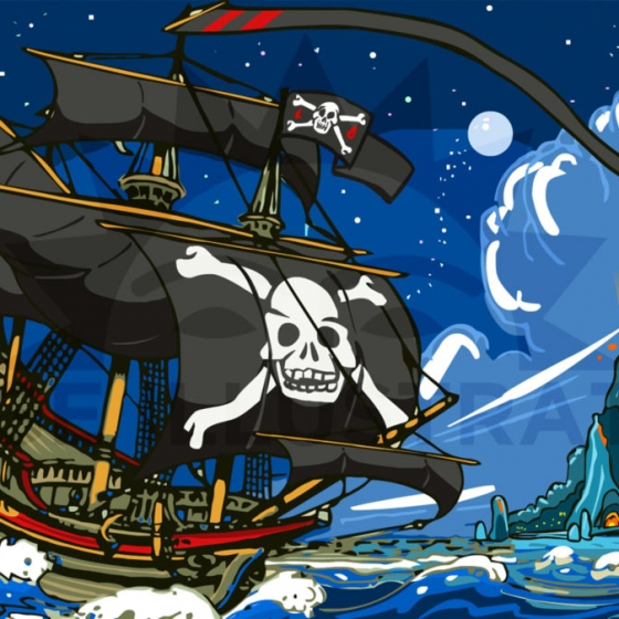 A New Adventure on the Sea – The Pirate's Ship