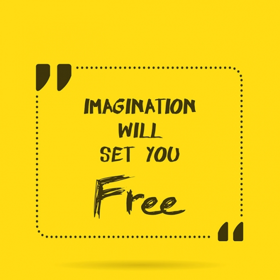 Post-It: Imagination Will Set You Free