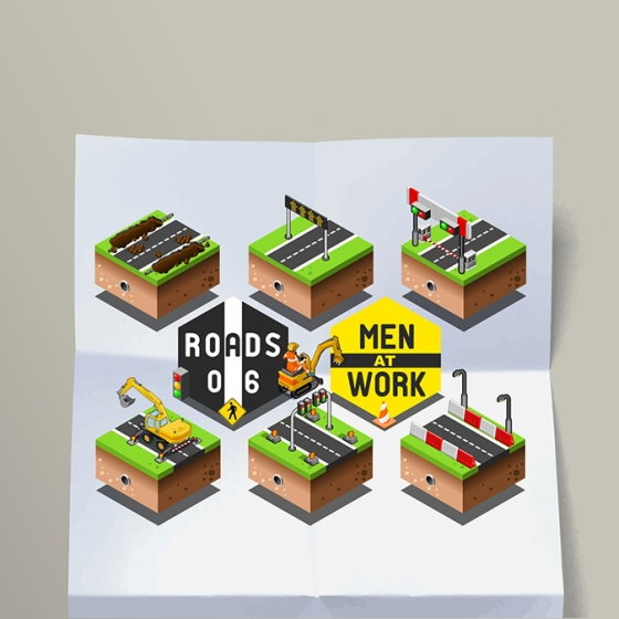On the Isometric Road – Men at Work