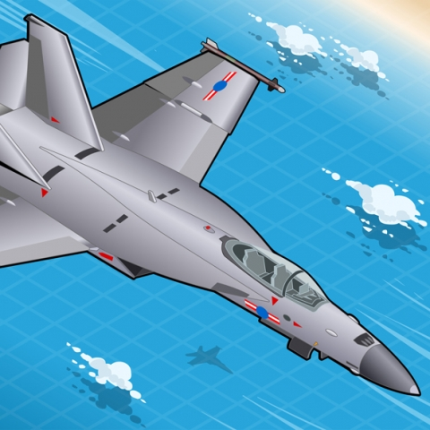 Militar Planes Vehicles 3D