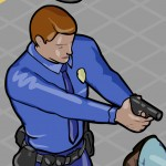 Isometric Police People 3D