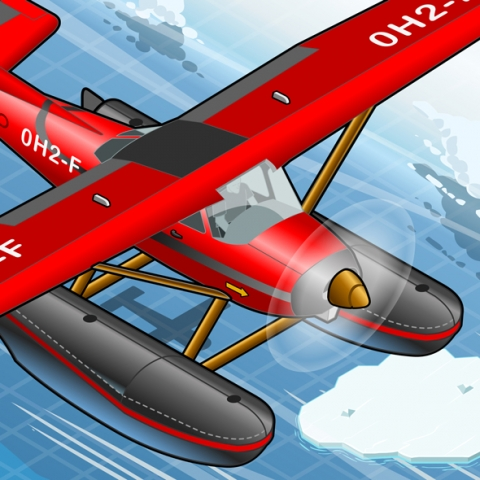 Rescue Planes Vehicles 3D