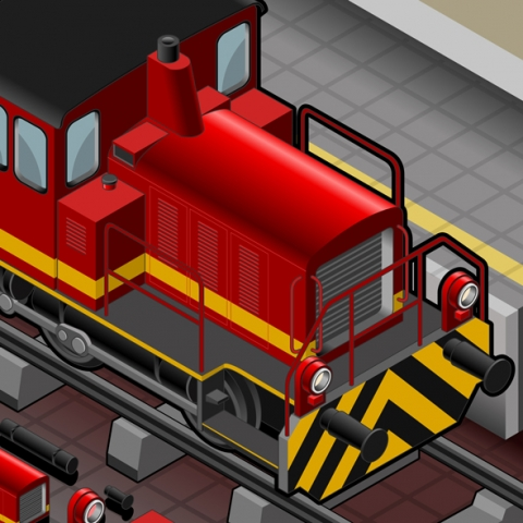 Underground Vehicles 3D