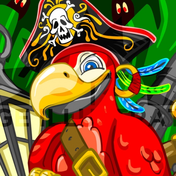 A New Adventure on the Sea – The Red Pirate Parrot