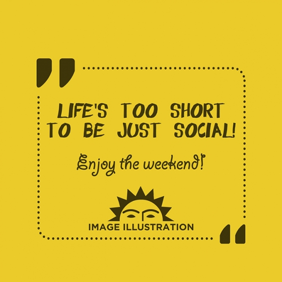 Post-It: When the Weekend is Social-Free