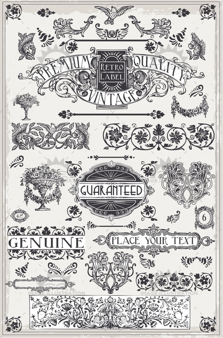background, banner, book, calligraphy, certificate, classic, collection, crayon, crown, decoration, drawing, elements, engraving, floral, frame, invitation, label, menu, old, paper, ribbon, sepia, sign, stamp, texture, vintage
