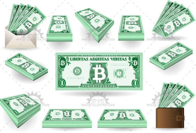 background, banknote, bit, bitcoin, business, cash, commerce, currency, digital, electronic, exchange, finance, financial, gold, internet, isolated, isometric, mail, market, metal, mining, money, sign, symbol, virtual, wallet, web, white, worldwide