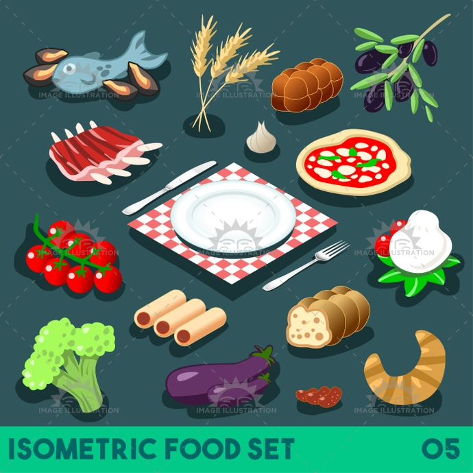 3d, app, bbq, bistro, bread, bright, broccoli, cheese, collection, complete, dessert, diet, dinner, dish, element, fast, fastfood, fish, flat, food, full, gorgeous, icon, illustration, infographic, ingredient, isolated, isometric, junk, meal, meat, menu, mockup, mozzarella, palette, pizza, plate, recipe, restaurant, ribs, set, stylish, template, vector, vegetables, web