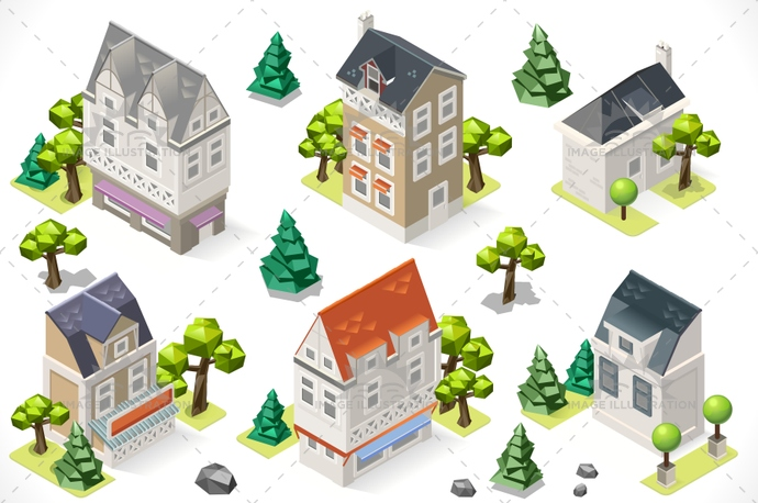 3d, app, architecture, block, building, cardboard, cartography, cartoon, city, european, exterior, facade, front, historic, hotel, house, icon, illustration, infographic, isometric, map, real, set, structure, stylish, template, tint, town, vector, web