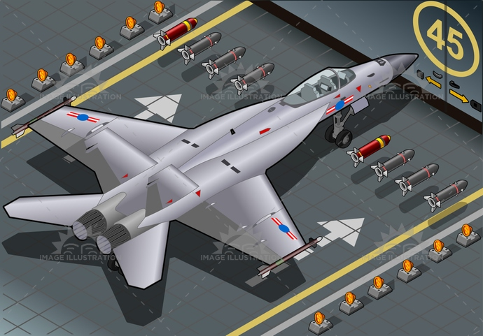 aeroplane, aerospace, air, aircraft, airforce, airplane, aviator, bomber, defense, display, f-18, f18, fighter, fly, force, hornet, interceptor, isolated, isometric, jet, military, missile, navy, pilot, plane, speed, super, supersonic, technology, war