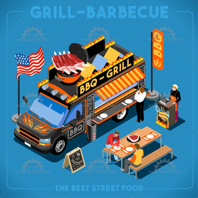 advertising, american, app, away, barbecue, bbq, bright, business, chef, company, delivery, diet, easy, eat, elements, flat, food, grill, icon, illustration, industry, isolated, isometric, Job, love, master, meal, meat, new, palette, passion, quality, restaurant, ribs, search, set, sign, street, stylish, summer, symbol, take, taste, template, truck, usa, van, vector, web