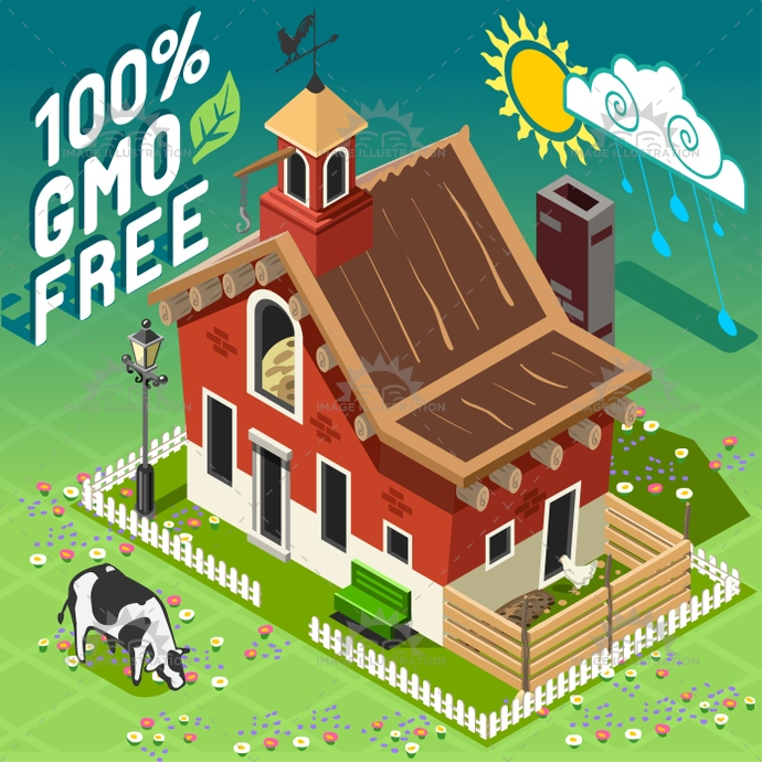 american, barn, building, chiken, cow, farm, farming, free, full, gmo, hayloft, hen, illustration, infographic, isometric, patio, postcard, rain, ranch, rural, set, sheaf, storage, template, tile, turkey, vector, weather, web, wood