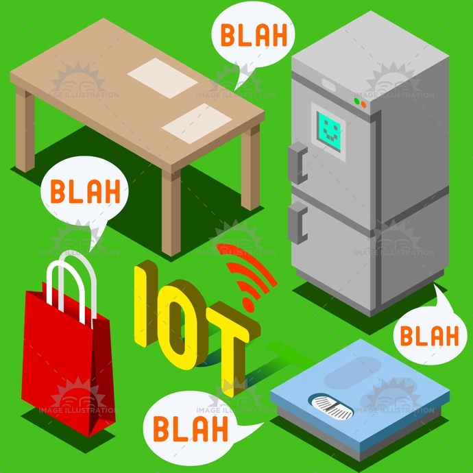 appliance, automatic, automation, balance, chatter, digital, domotics, fridge, furniture, gossip, high frequency, home, identification, illustration, internet, iot, isometric, locating, low frequency, radio, rfid, scale, sharing, status, things, tote bag, traceability, vector, wireless