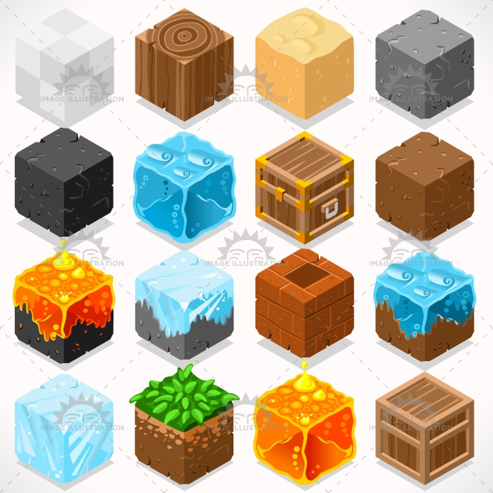 3d, adventure, app, blocks, box, brick, build, case, cement, clump, coal, collection, craft, creative, cube, element, flat, four, game, grass, gravel, ice, illustration, iron, isolated, isometric, jelly, kit, lava, log, mega, mine, modular, resource, sand, shingle, starter, stylish, teen, template, textured, tiles, treasure, trunk, vector, water, web, wood, world