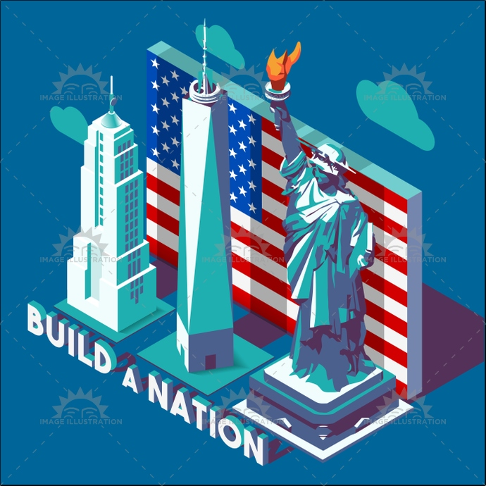 american, app, architecture, background, city, color, game, historical, illustration, isolated, isometric, landmark, liberty, manhattan, map, Monument, national, new, road, soft, statue, street, stylish, template, tile, urban, usa, vector, web, york