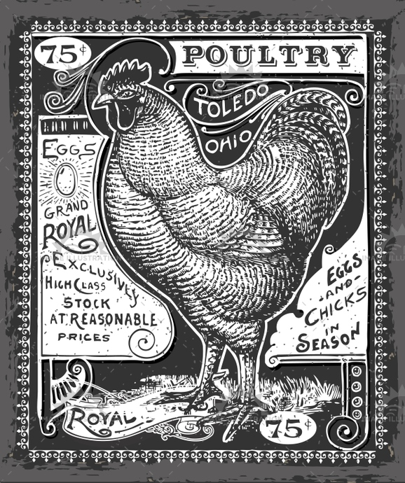 advertising, banner, blackboard, chalkboard, chicken, cook, cuisine, decoration, dinner, egg, food, fowl, gastronomy, handwriting, hen, illustration, insignia, menu, old, poultry, restaurant, retro, romantic, rooster, shop, tatto, turkey, vector, victorian, vintage