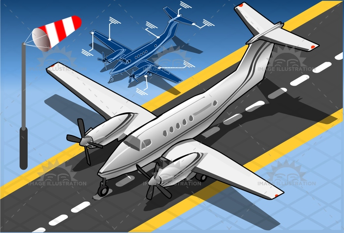 3d, aeroplane, air, aircraft, airplane, airport, airscrew, aviation, background, beechcraft, business, cessna, CoastGuard, flight, icon, isolated, isometric, jet, landed, lear, Learjet, light, luxury, pilot, piper, plane, private, symbol, tourist, travel