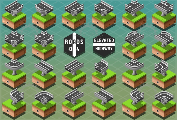 3d, avenue, background, city, design, downtown, drawing, element, elevated, graphic, green, grey, highway, icon, information, isometric, map, path, pattern, puzzle, road, route, street, town, travel, urban, view