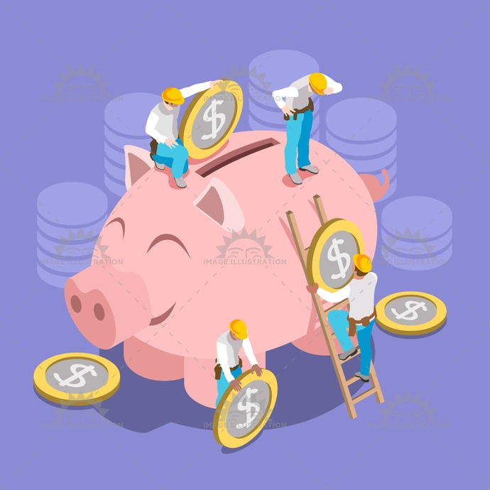 app, assemble, banking, bond, business, capital, coin, collection, concept, credit, crisis, crowd, crowdfunding, economics, economy, employment, family, financial, free, fund, funding, hard, hat, home, icon, illustration, industrial, infographic, isolated, isometric, less, loan, man, money, moneybox, people, piggy, piggybank, planned, project, saving, set, stylish, template, unrecognizable, vector, virtual, web, world