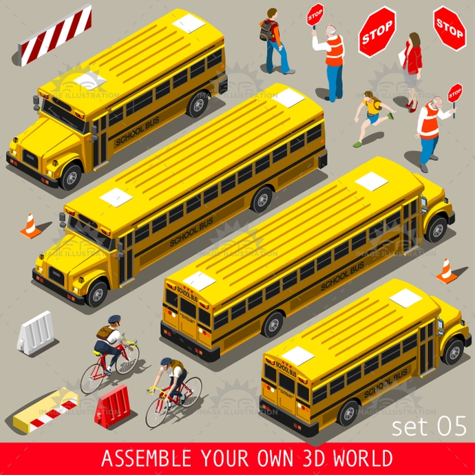 3d, advertising, app, assemble, back, bicycle, bright, bus, children, collection, college, color, companion, cyclist, elementary, flat, game, grandfather, grandson, high, icon, illustration, infographic, isometric, middle, natural, new, palette, people, poses, private, realistic, school, set, street, students, stylish, teacher, template, unrecognizable, urban, vector, vehicle, vivid, volunteers, web, world, yellow