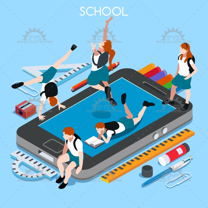 3d, advertising, app, back, backpack, banner, basic, bright, chancellery, child, class, collection, college, design, device, education, educational, elementary, elements, enjoyment, flat, great, happy, high, illustration, institution, instruction, isometric, junior, middle, ministry, multicolor, palette, paste, pencil, people, personal, private, school, set, smartphone, smock, students, stylish, teaching, template, vector, vivid, waxing, web