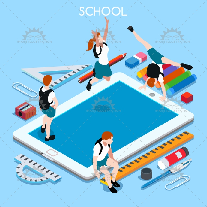 3d, advertising, app, back, backpack, banner, basic, bright, chancellery, child, class, collection, college, design, device, education, educational, elementary, elements, enjoyment, exercise, flat, great, happy, high, illustration, institution, instruction, isometric, junior, middle, ministry, multicolor, online, palette, pencil, people, personal, private, school, set, smock, students, stylish, tablet, teaching, template, vector, vivid, web