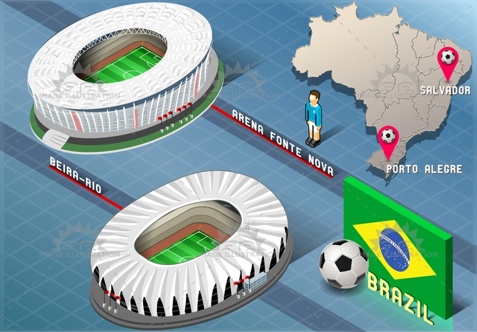 america, arena, background, ball, beira, blue, brasil, brazil, championship, flag, fontenova, football, green, icons, infographic, isolated, isometric, map, national, player, portoalegre, rio, salvador, soccer, south, stadium, tourism, world, yellow
