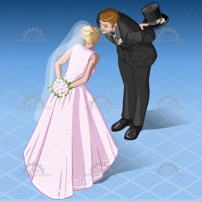 bride, cartoon, celebrate, couple, doodle, elegance, family, glamour, groom, holiday, honeymoon, isolated, isometric, kiss, Kissing, love, man, marriage, marry, newlyweds, people, pose, romance, together, vacation, wedding, woman