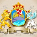Coat of Arms Vector Set