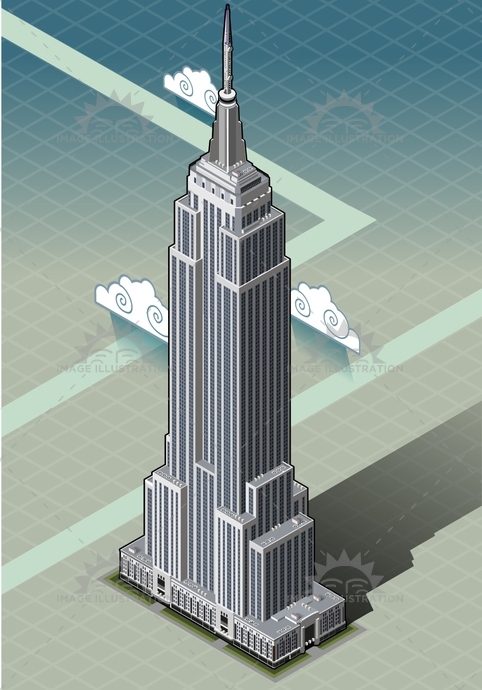 america, american, architecture, background, building, buildings, business, city, cityscape, empire, exterior, high, historic, isometric, landmark, manhattan, modern, new, nyc, office, sky, skyscraper, state, top, tourism, tower, urban, usa, york