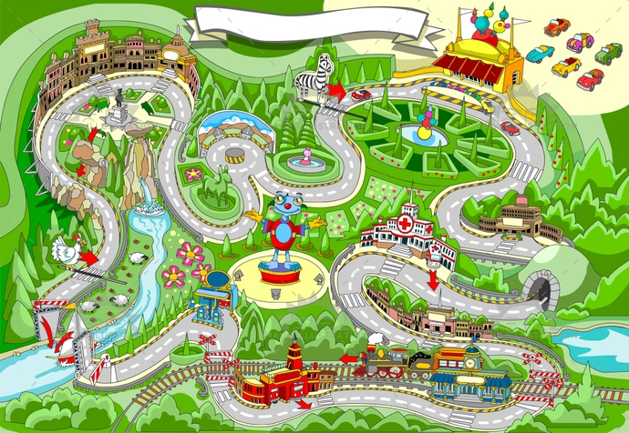 activity, background, car, cartoon, challenge, children, competition, drive, flag, fun, gadget, game, illustration, kart, kids, map, path, placemat, play, puzzle, race, road, route, speed, start, tale, toy, vector, vehicle, win