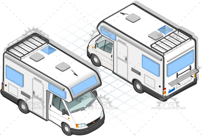 camper, car, carrier, FamilyRest, frontview, green, holidays, isometric, landvehicle, lights, MotorVehicle, rearview, relaxation, rest, sports, tires, trailer, transport, transportation, travel, urbantourism, wheels, wipers