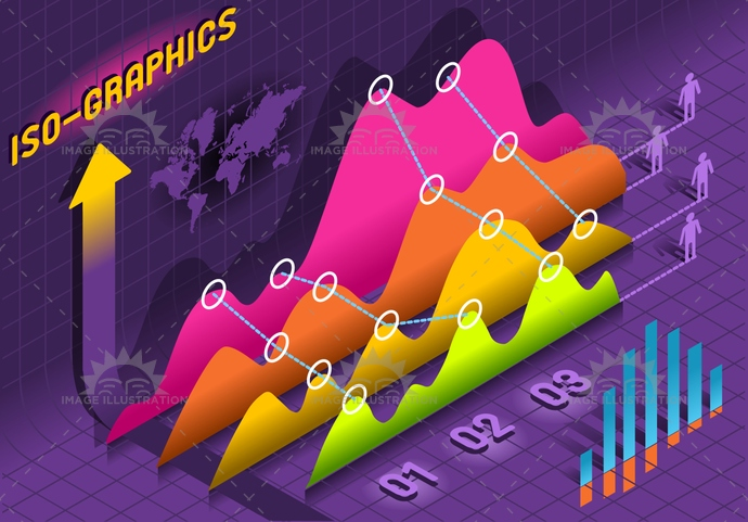 background, bar, business, chart, concept, cost, curve, data, Diagram, finance, graphic, histogram, infographic, information, isometric, percentual, report, sign