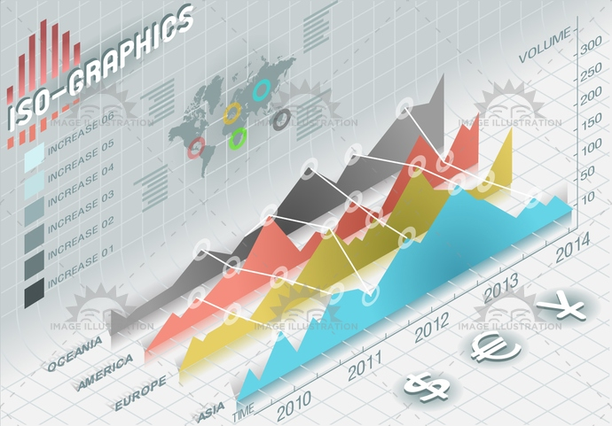 3d, america, asia, background, bar, blue, business, chart, concept, cost, curve, data, Diagram, europe, figure, finance, graph, graphic, histogram, icon, infographic, information, isolated, isometric, oceania, percentual, pink, presentation, red, report, sign, vector, year, yellow