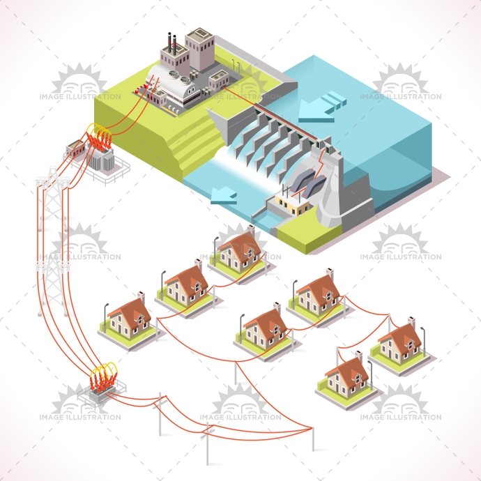 3d, alternative, app, background, banner, building, business, city, collection, dam, Diagram, dike, eco, ecological, electric, Electricity, elements, energy, environment, farm, flat, frame, Generator, green, grid, hydroelectric, illustration, industry, infographic, isolated, isometric, line, management, map, plant, power, renewable, river, scheme, set, Source, stylish, supply, sustainable, technology, template, turbine, vector, water, web