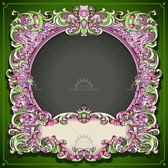 abstract, antique, background, banner, baroque, border, borders, circle, decoration, decorative, design, elegant, floral, flower, flowers, foliage, frame, frames, invitation, label, old, ornament, ornate, pattern, retro, rose, round, spring, style, vintage