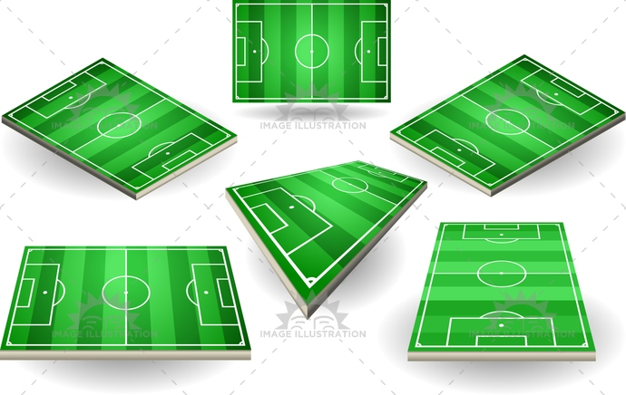 area, background, ballsport, championship, competition, corner, court, field, football, game, goal, grass, green, ground, illustration, isolated, isometric, lay-out, line, pitch, play, playground, soccer, sport, stadium, stripe, striped, terrain, track, white