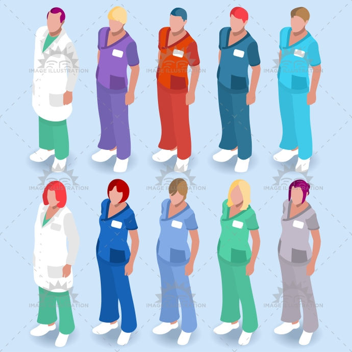 3d, adult male, app, assistance, assistants, banner, care, cartoon, character, clinic, clinical support, clinician specialist, collection, diagnostic, doctor, female, flat, girl, health, healthcare, Hospital, hospital staff, icon, illustration, infographic, isolated, isometric, licensed, medical, medicine, nurse, people, physician, physiotherapist, practice, radiological imaging, registered, research, respiratory, senior, set, student practitioner, stylish, template, therapist, vector, web, white
