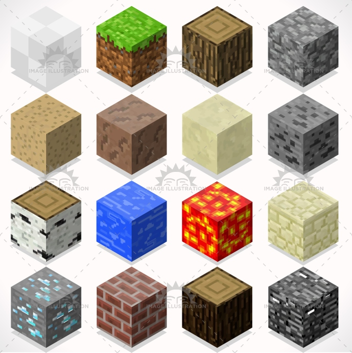 3d, adventure, app, blocks, box, brick, build, case, cement, clump, coal, collection, craft, creative, cube, element, flat, game, grass, gravel, ground, ice, illustration, iron, isolated, isometric, kit, lava, log, mega, mine, modular, resource, rock, sand, shingle, starter, stylish, teen, template, textured, tiles, trunk, vector, web, wood, world