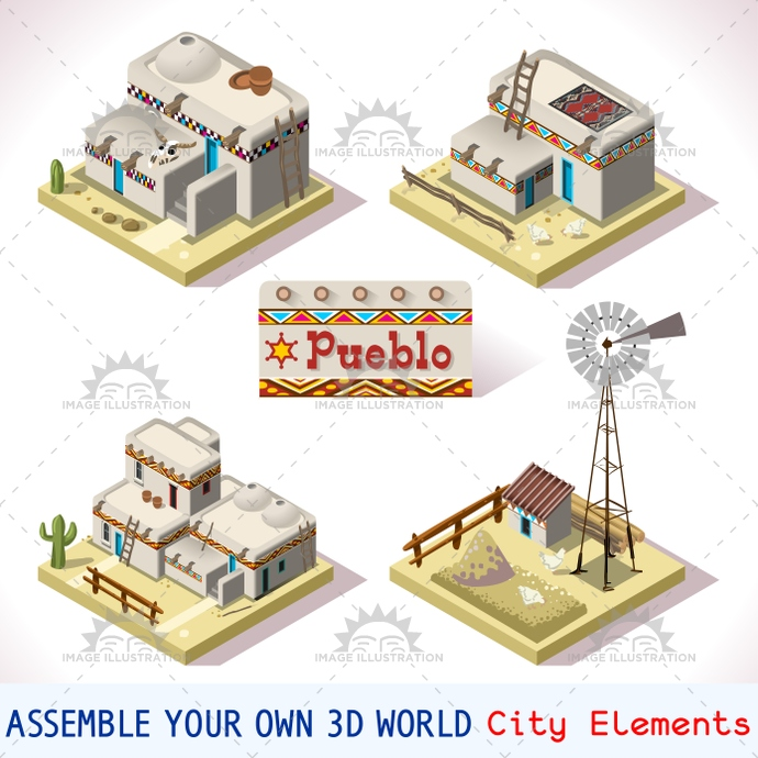 3d, america, american, app, arizona, building, clay, cliff, collection, colorado, development, farm, flat, game, heritage, house, icon, illustration, indian, indigenous, insight, isometric, landmark, map, mexican, mexico, native, new, online, pueblo, ranch, rural, set, southwest, starter, strategy, symbols, taos, template, texas, tiles, toolkit, traditional, utah, vector, village, western