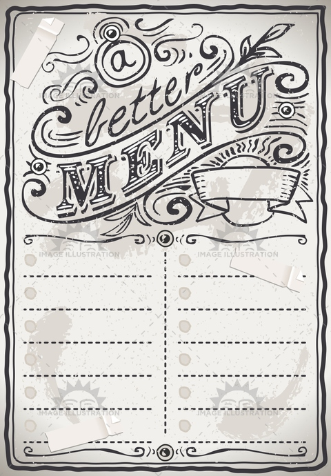 aged, ancient, antique, background, banner, blackboard, branch, breakfast, chalk, cook, crayon, cuisine, decoration, foliage, freehand, gastronomy, graphic, handwriting, leaf, menu, old, placecard, placeholder, retro, romantic, scroll, typography, victorian, vintage