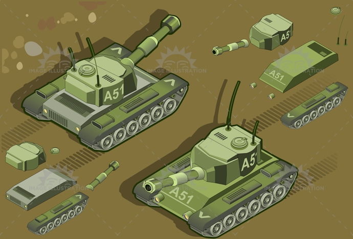antenna, armed, armor, armored, armoured, army, artillery, attack, battle, camouflage, cannon, crawlers, forces, gun, Headlight, heavy, isometric, military, mimetic, radiator, tailgate, tank, tower, vehicle, war, weapon