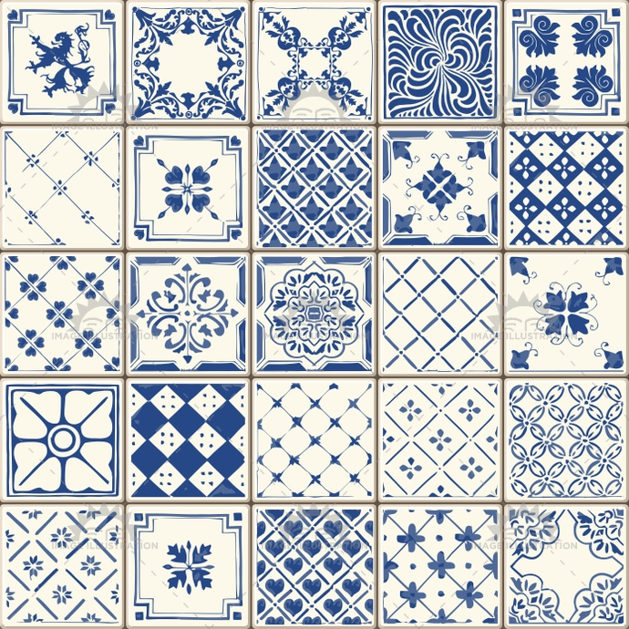 abstract, arabesque, azulejo, azulejos, background, blue, brocade, ceramic, clipart, collection, color, cover, curly, decoration, decorative, design, elements, floor, floral, flowers, geometrical, Glazed, illustration, indigo, interior, moroccan, mosaic, oriental, ornamental, Painted, pattern, portugal, retro, set, spain, square, template, texture, tile, tiled, Tilework, Tin, traditional, vector, vintage, wall, wallpaper, web, wrapping