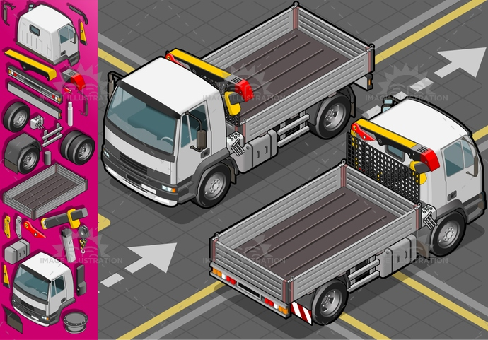 arm, carrier, container, crane, delivery, driving, elevator, heavy, hydraulic, industrial, isolated, isometric, landvehicle, lights, machinery, MotorVehicle, pack, Pick-upTruck, robot, robotic, technology, tires, transpallet, transport, transportation, Transportofgoods, truck, van, wheels, wipers
