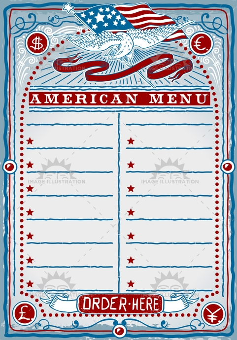 aged, america, ancient, antique, banner, crayon, cuisine, dollar, eagle, euro, firstcourse, flag, food, freehand, gastronomy, handwriting, menu, old, pound, restaurant, retro, rose, sepia, star, stripe, usa, vintage, western, yen