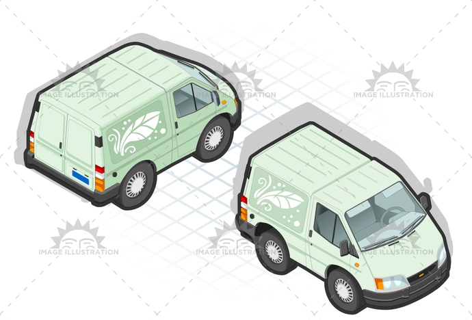 carrier, cold, container, delivery, frontview, frozen, isometric, landvehicle, lights, MotorVehicle, pack, Pick-upTruck, rearview, Refrigeration, refrigerator, tires, transpallet, transport, transportation, Transportofgoods, van, wheels, wipers