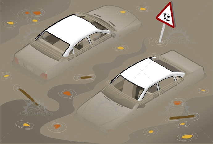 accident, car, EmergencyServices, evacuation, flood, horizontal, insurance, isometric, mud, NaturalDisaster, nature, outdoors, pollution, river, Sewage, Stranded, surge, TropicalClimate, UpperdeckView, urgency, VehicleBreakdown, Wading, water, wave
