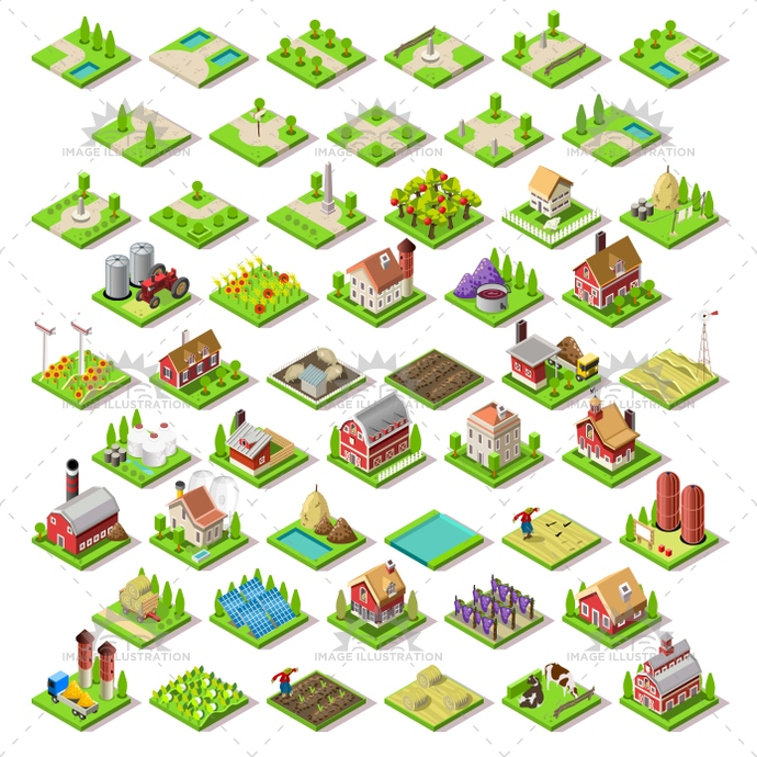3d, app, architecture, assemble, barn, build, building, city, collection, complete, design, development, elements, fantasy, farm, farming, farmland, flat, game, home, house, icon, idea, illustration, infographic, insight, isolated, isometric, kit, landmark, map, modular, online, pack, package, place, project, rural, set, settlement, strategic, stylish, symbols, template, tiles, vector, vineyard, web, world