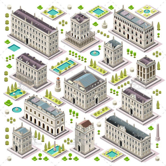 ancient, app, architecture, boutique, building, business, city, collection, company, construction, design, elements, estate, european, facade, game, hall, headquarter, historical, home, hotel, house, icon, illustration, isolated, isometric, map, miniature, old, outside, plan, private, property, public, residence, residential, retail, set, small, street, stylish, template, theater, tiles, town, university, urban, vector, web, white